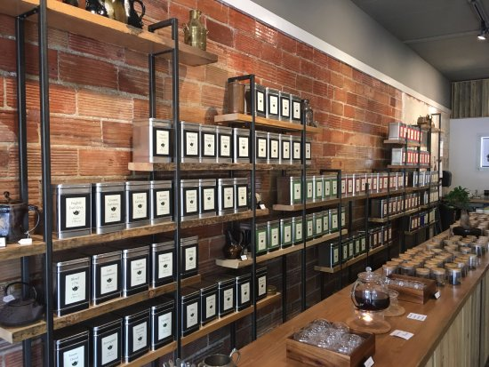 Vernon, Kanada: Tea selection