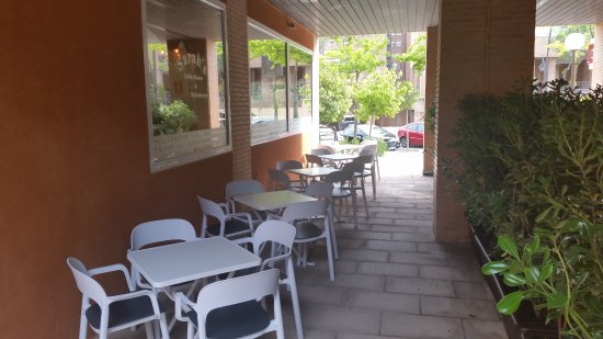 Tres Cantos, Espanha: Terraza cubierta