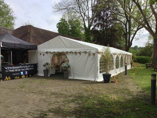 Millstream Bistro: Marquee Set Up Functions/Weddings