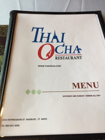 Simsbury, CT: Thai Ocha