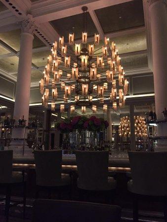 Corinthia Hotel London: Lovely surroundings; very minor gripes