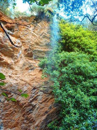 Puigpunyent, Spanyol: водопад