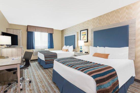 Spokane Valley, WA: 2 Queen Beds Room