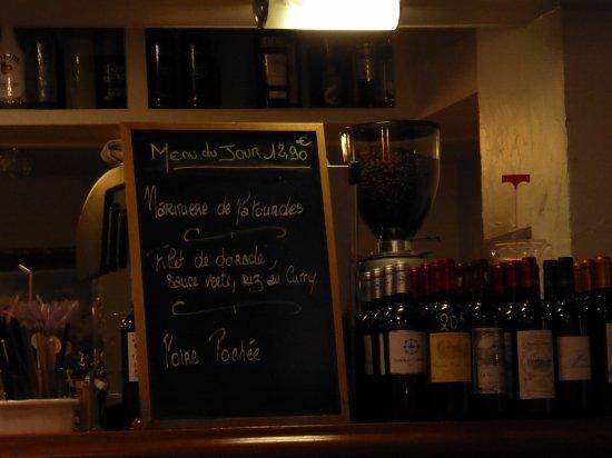 Blaye, Frankrike: Menu du Jour