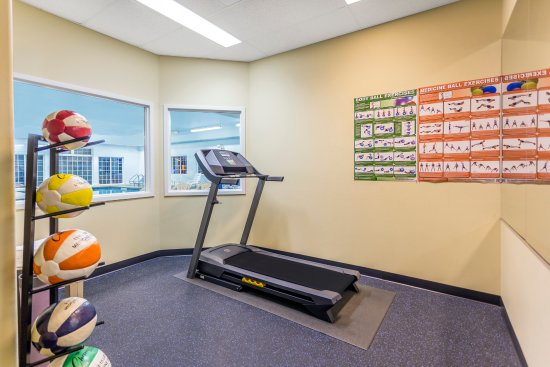 Spokane Valley, WA: Exercise Room