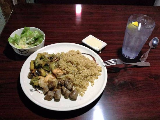 Harriman, TN : Fried Rice with steak and chicken