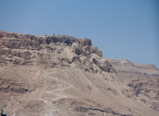 Gonen Israel  City new picture : Gonen, Israel: Snake trail to Masada.