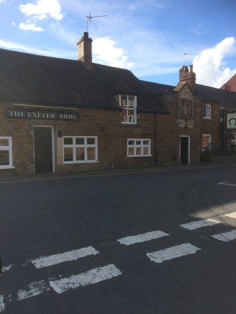 Uppingham, UK: The Exeter Arms
