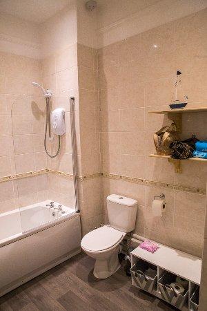 Pentewan, UK: Bathroom