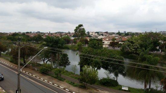 Mogi Mirim, SP: Vista do apartamento!