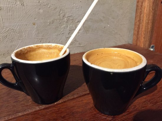 Macchiato was so good I ordered a second one.