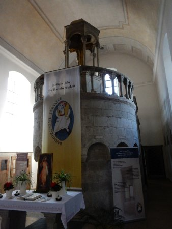 Ehemalige Kapuzinerkirche Heilig Kreuz mit dem Heiligen Grab Eichstätt