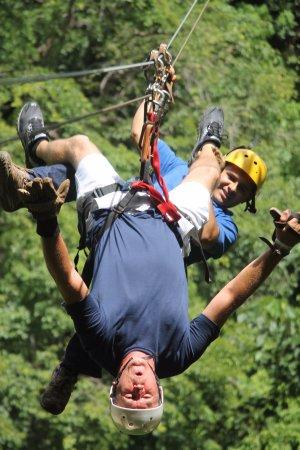 Ринкон-де-ла-Вьеха, Коста-Рика: cabeza abajo!!!