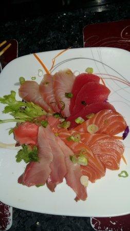 Βόρειο Fort Myers, Φλόριντα: Sashimi plate