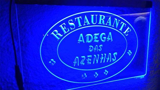 Azenhas do Mar, Portekiz: Na Sala de Jantar do Restaurante Adega das Azenhas