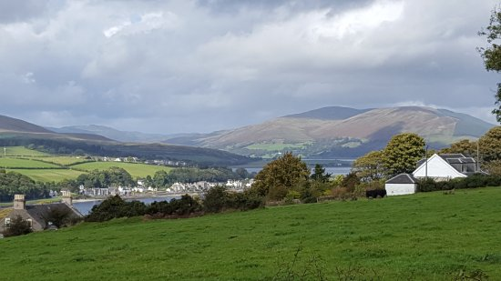 Isle of Bute, UK: The View from Canada Hill