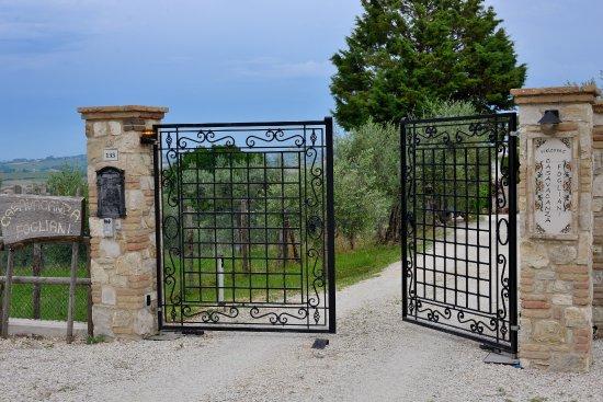 Giano dell'Umbria, İtalya: Benvenuti  a Casa Vacanza Fogliani
