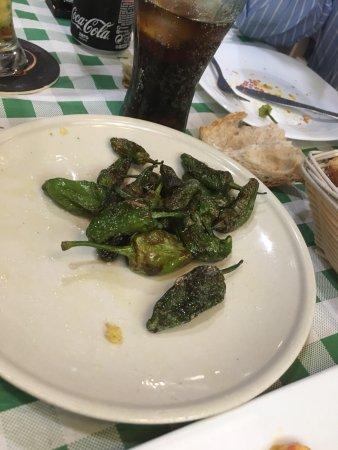 Perillo, Hiszpania: Pimientos demasiado buenos