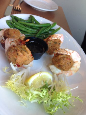 New Bedford, MA: baked stuffed shrimp