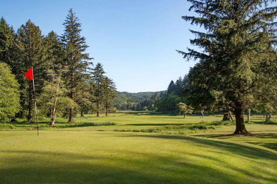 Coos Bay, Oregón: Number 7 green