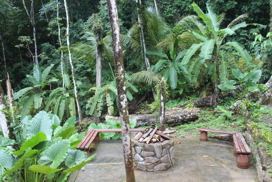 Pavones, Costa Rica: Braai/BBQ area