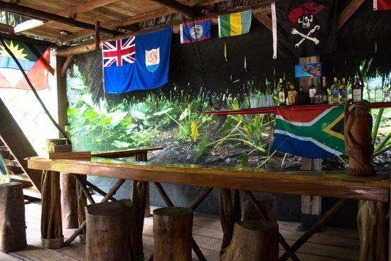 Pavones, Costa Rica: Pirate bar