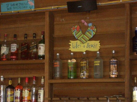 The Valley, Anguilla: Bar at DaVida