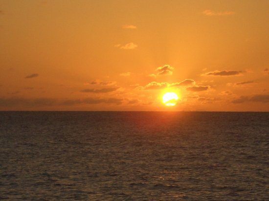 The Valley, Anguilla: Great sunsets at Crocus