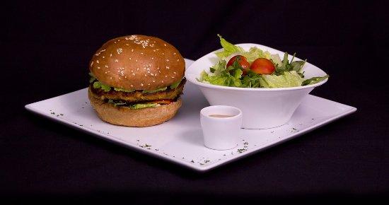 Haapiti, Polinésia Francesa: Vegetarian Burger