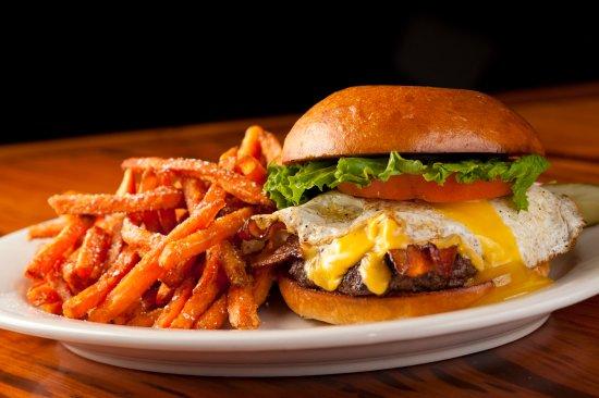 Thibodaux, LA: The Hangover Burger