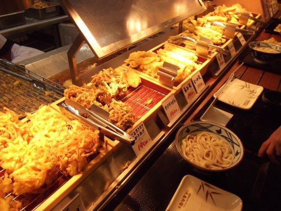 Higashiura-cho, Japan: 天ぷら類、お好みで