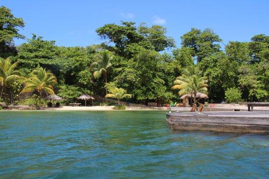 Blue Lagoon : Strand wo Cocktail mit Tom Cruise gedreht wurde