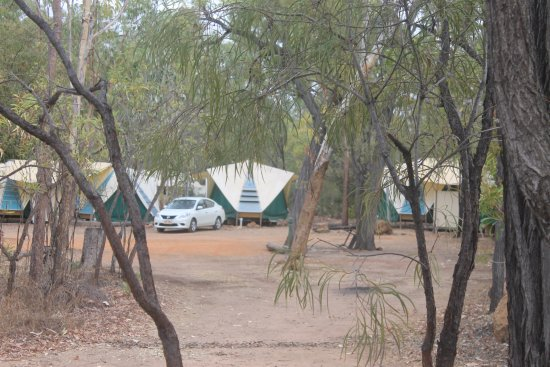 Undara Volcanic National Park, ออสเตรเลีย: Onsite Campers