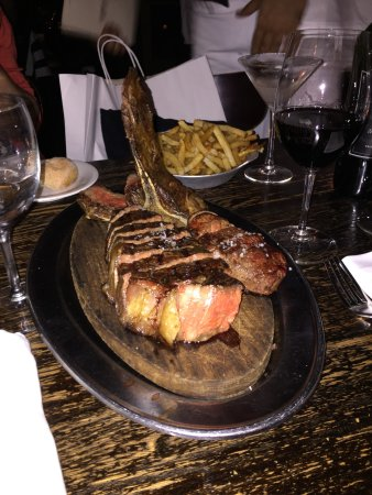 Keens Steakhouse: Porterhouse Steak