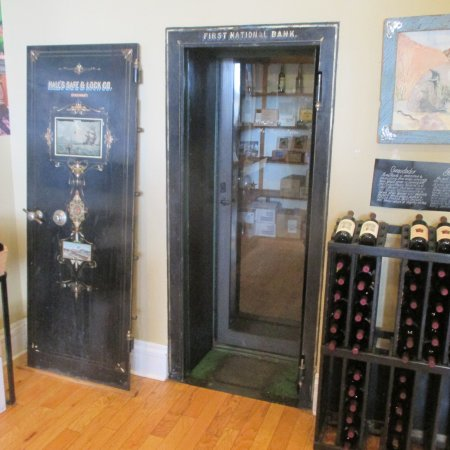 Old Bank Vault And Wines For Sale Picture Of The
