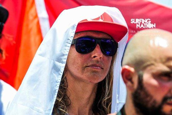Playa Venao, Panamá: Resident coach Anna Chudnenko