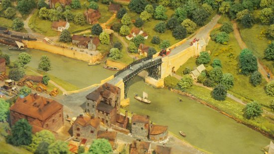 Museum of the Gorge: The Ironbridge in the 3D model