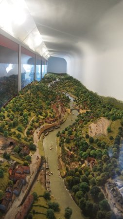 Museum of the Gorge: Looking down the gorge