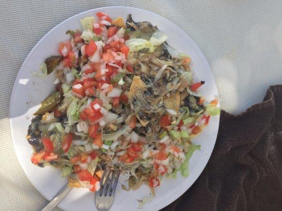 Fenix Lounge Restaurant & Beach Club: Chicken nachos