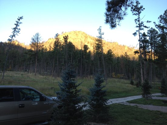 Horse Thief Campground and RV Resort: View from our campsite