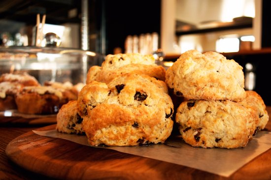 Cromwell, New Zealand: Date Scones- Made Fresh Daily