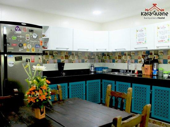 Hostel Kasa Guane: Shared Kitchen