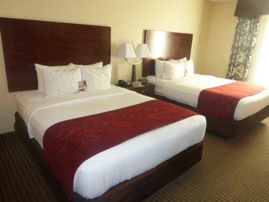 Comfort Suites Hotel & Convention Center Rapid City: Zimmer mit 2 Doppelbetten