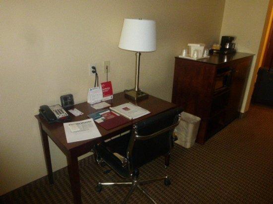 Comfort Suites Hotel & Convention Center Rapid City: Schreibtisch