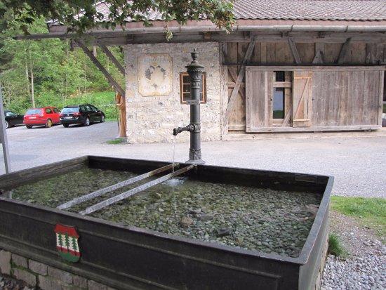 Wangle, Austria: Fontana