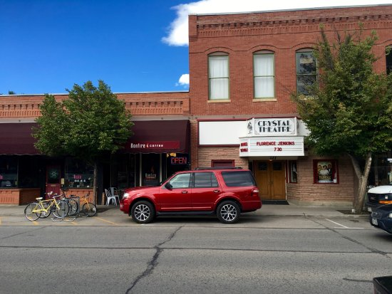 Carbondale, CO: Coffee and a movie theater- lucky us!