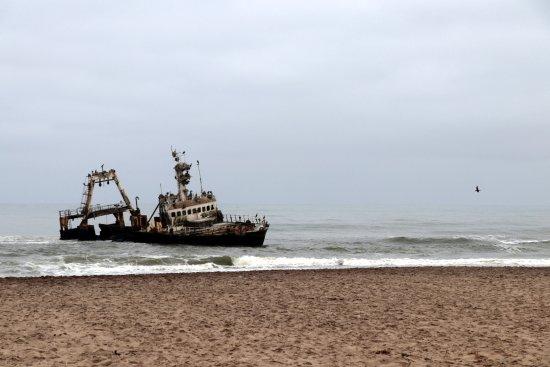 Hentiesbaai, Намибия: Zeila Shipwreck (2008)