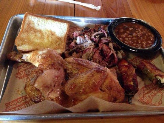 Leesville, LA: 2 Meat Plate