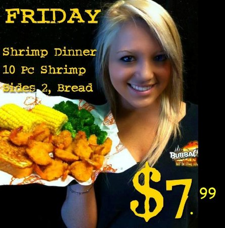 Leesville, LA: Friday Lunch Special