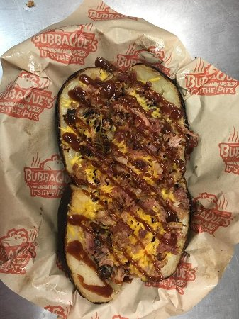 Leesville, LA: Try our Texas Spud: Brisket, Cheese, & Tractro Grease